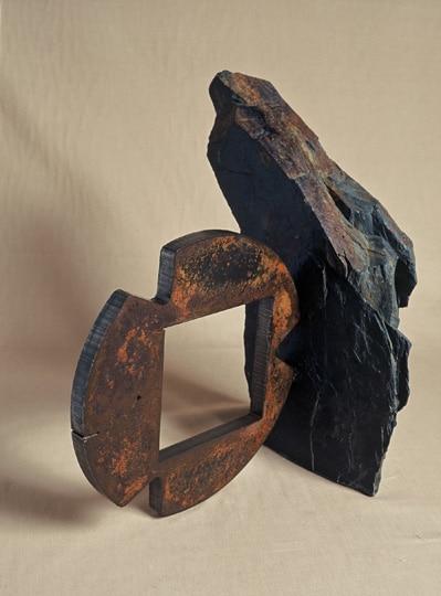 escultura hierro, escultura de hierro