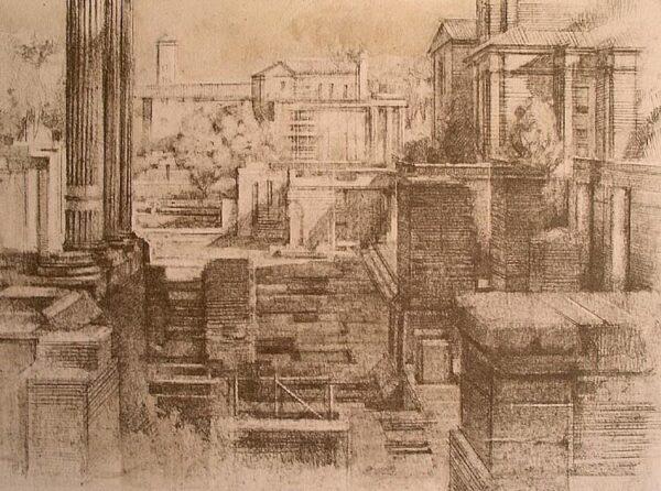 litografía_artista_arquitectura_luis_gaya