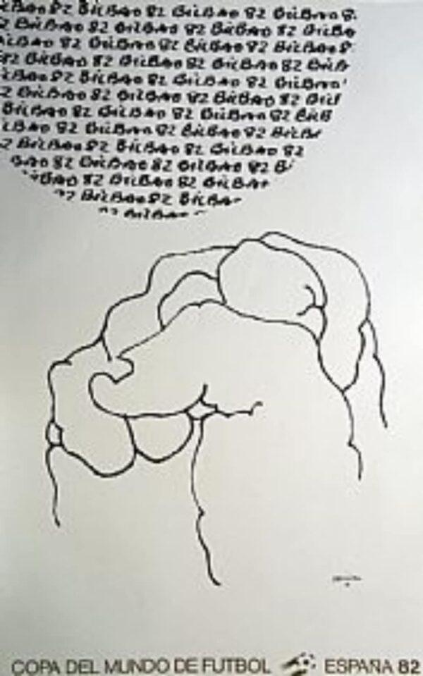 Eduardo_Chillida_obra_grafica_Cartel_Original