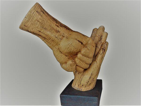 talla_palmera_impacto_sculptor_roy_ledgard