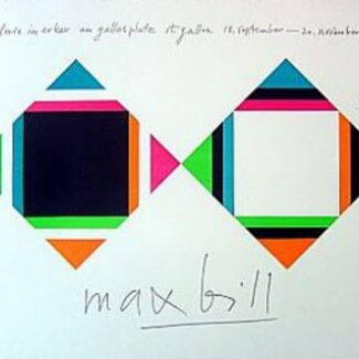max_bill_cartel_original_venta_online