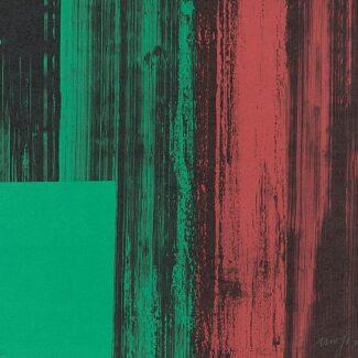 Abstraccion Arte, Litografía de Rafael Canogar, Espejismos de la memoria I