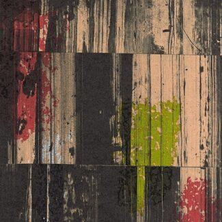 Abstraccion, Rafael Canogar, Espejismos de la memoria II