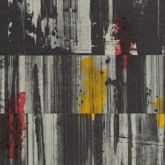 Abstraccion Arte, Litografía de Rafael Canogar, Espejismos de la memoria VI