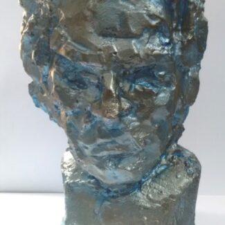 Escultura de barro, Escultura barro, Neptuno Beethoven