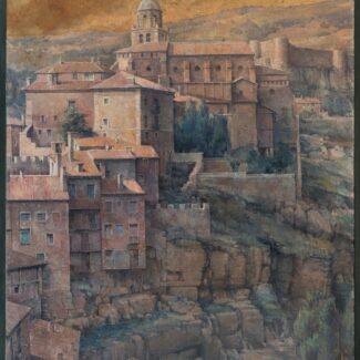 Oleo_sobre_lienzo_Albarracín_luis_gaya