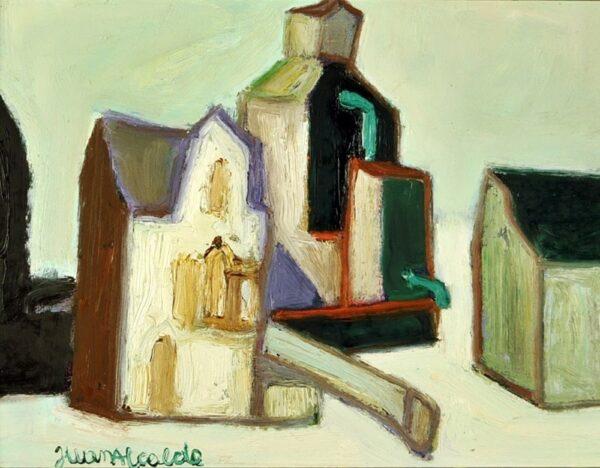 Comprar Arte Madrid, Oleo Pintura Abstracta, Oleo Sobre Tabla