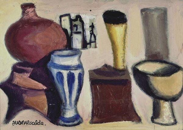 Comprar Arte Online, Oleo Sobre Tabla, Juan Alcalde