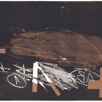 Comprar Arte Online, Litografia Antoni Tàpies, A effacé