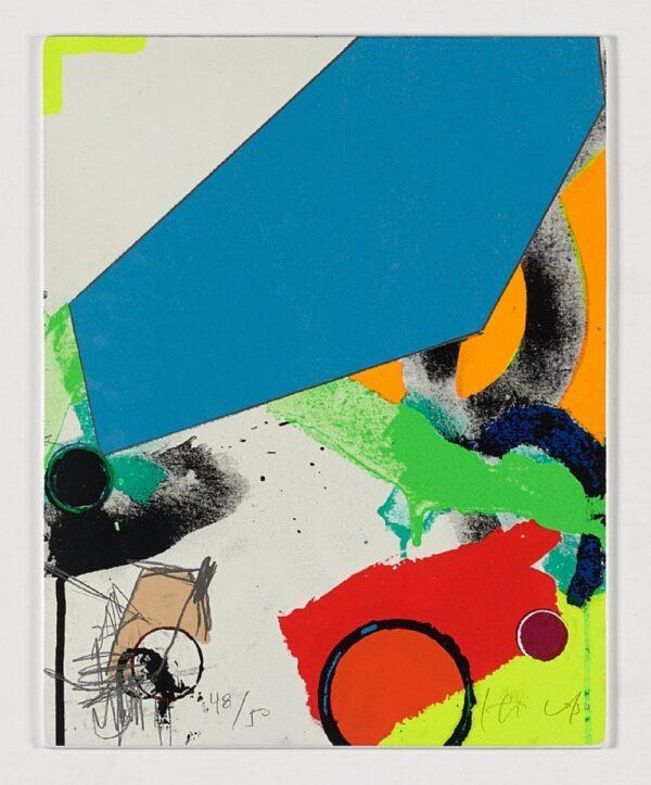Obra Grafica, Revista Enigma Tabla 4 artista capa