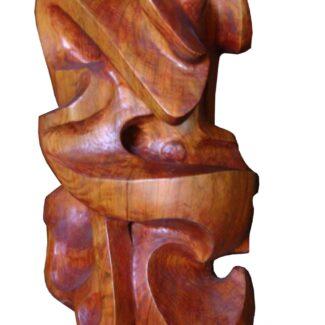 escultura_madera_de_pino_rene_Roy_Ledgard