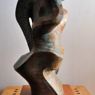 escultura_madera_de_olmo_rene_Roy_Ledgard