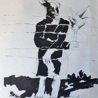 Roberto Duarte, Grabado sobre papel canson