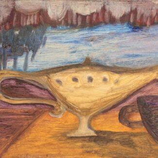 Comprar Arte Online, Oleo sobre Madera, Carolina Andrada