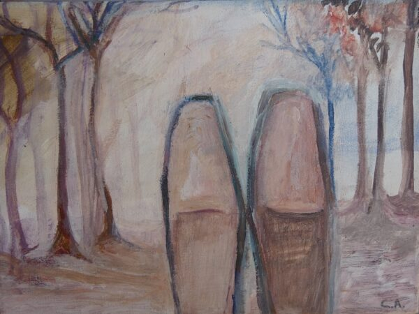 Venta Arte Online, Zapatillas, óleo sobre lienzo 120